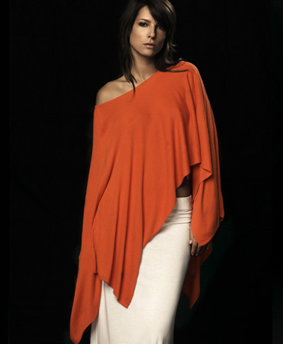 Viridis Luxe || spring 08 :  spring shawl fashion top